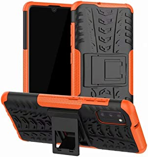 TenDll Case for oppo A73 5g, Shockproof Tough Heavy Duty Armour Back Case Cover Pouch With Stand Double Protective Cover o...