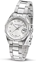 Philip Ladies Caribbean Analogue Watch R8253107665 with Quartz Movement, Silver Dial and Stainless Steel Case
