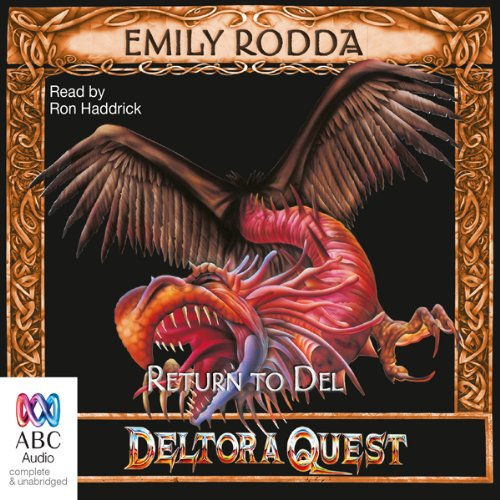 Return to Del: Deltora Quest, Book 8 audiobook cover art