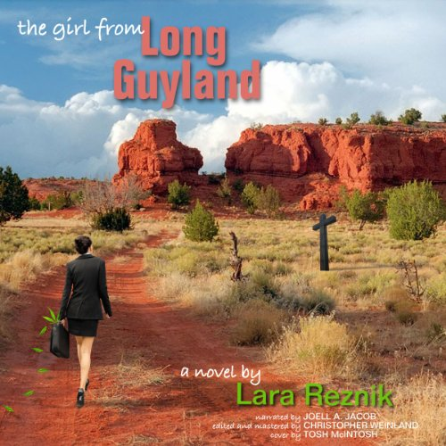 The Girl from Long Guyland audiobook cover art