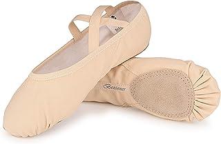 Ballet Shoes for Women Girls, Women`s Ballet Slipper Dance Shoes Canvas Ballet Shoes Yoga Shoes