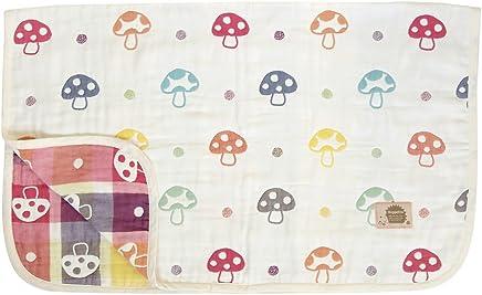 日本Hoppetta 宝宝6层透气纱布  四季通用空调被  M码(约90×110cm)