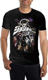 Bioworld Jojos Bizzare Adventure Mens' Part 3 Group T-Shirt