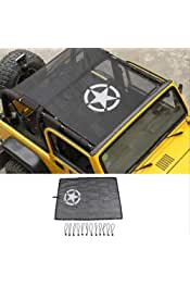 L/&U Acciaio Inox Chiusure Cattura Hood Lock per 1997-2006 Jeep Wrangler TJ,Bianca