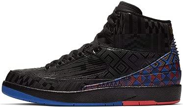 Nike Air Jordan Retro 2 BHM Black/Metallic Gold