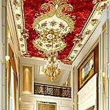 3D Wandbild Hintergrund bild Tapete Europäischen Stil Decke Tapete Wohnzimmer Schlafzimmer Boden Gemälde Tapete Decor muraart 250cmx175cm