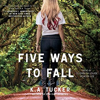 Five Ways to Fall audiobook cover art