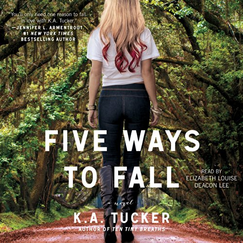 Five Ways to Fall     A Novel              Written by:                                                                                                                                 K. A. Tucker                               Narrated by:                                                                                                                                 Elizabeth Louise,                                                                                        Deacon Lee                      Length: 11 hrs and 48 mins     Not rated yet     Overall 0.0