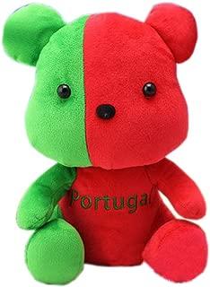 George Jimmy Mascot Flags Plush Toy Bear Souvenir Cute Doll, Portugal