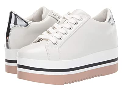 Steve Madden Alley Sneakers (White) Women