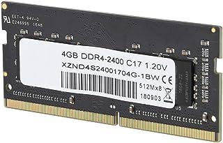 Lantro JS Gold Finger Chapado en Oro 260Pin Contacto Estable Buena compatibilidad 8GB DDR4 RAM, 2400MHz DDR4 Memory, para computadora portátil
