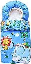 Saco de Dormir 3 Tog Bebé Manta de Invierno para Bebé para sillas de coche para Cochecitos de Bebé Sillas de Paseo o Cunas 87 * 45cm, 0-9 Meses