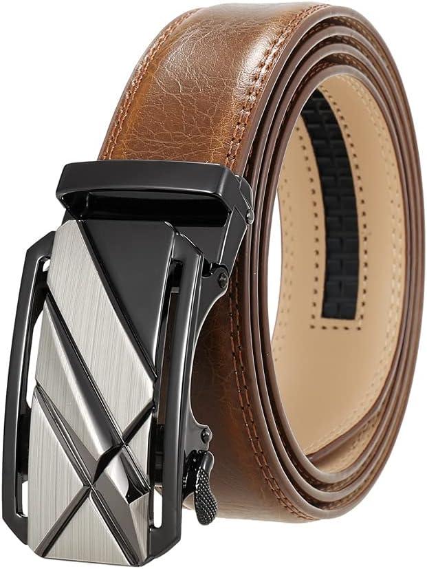 EEKLSJ Fashion Men Belts Famous Genuine Male Belt Max Max 56% OFF 59% OFF Black Leather