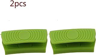 JOJOZZ Silicona sostenedor de pote Que Cocina agarradores, 2pcs Mini mitón del Horno de la Cocina de Calor Solución de Cocina Resistente agarres de Adelgazamiento