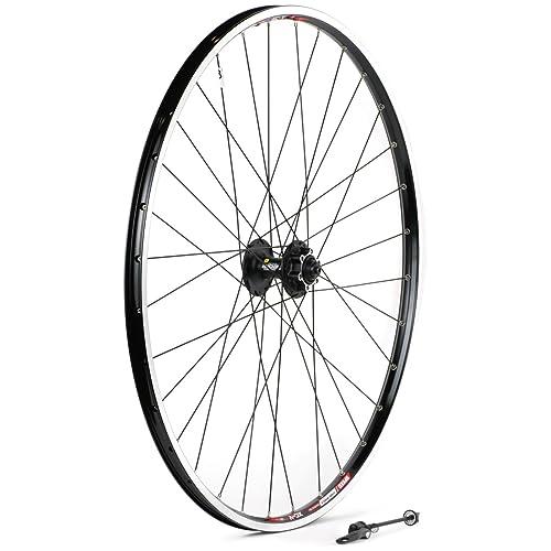 ad1bba280f4 Sta-Tru Black Shimano Deore M525 6-Bolt Disc Hub Front Wheel (29er