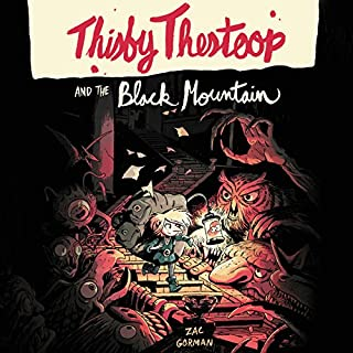 Thisby Thestoop and the Black Mountain audiobook cover art