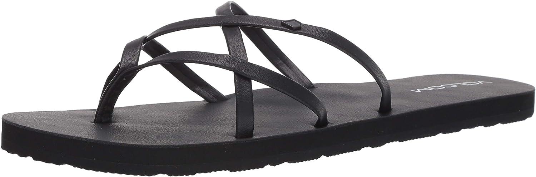 Bargain Volcom Genuine Free Shipping Women's New School Flop Sandal Flip