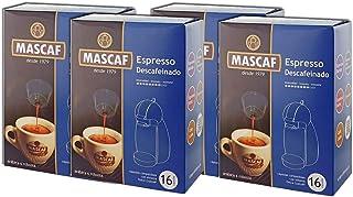 Cápsulas de Café Expreso Descafeinado - MASCAF -
