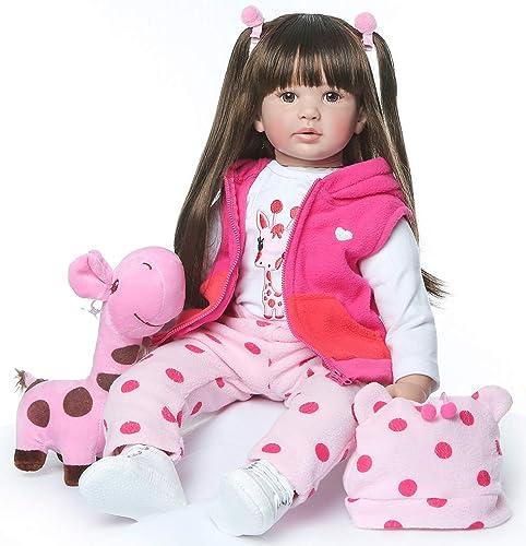 Venta barata ZIY IUI Reborn Realista Baby Doll Doll Doll Vinilo de Silicona Suave Hecho a Mano Newborn Doll Baby Playmate Navidad 24  60 cm  orden ahora con gran descuento y entrega gratuita