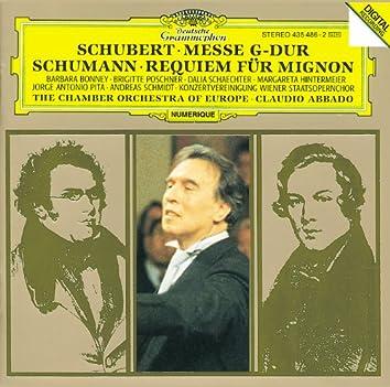 Schubert: Mass In G Major, D. 167; Tantum Ergo In E Flat Major, D. 962; The 23. Psalm In A Flat Major, D. 706, Op. Posth. 132 / Schumann: Requiem For Mignon, Op. 98b