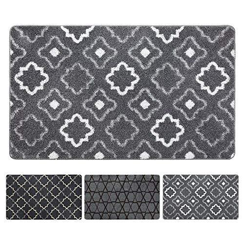 DEXI Original Indoor Doormat, Durable Absorbent Door Mats Indoor, 59x36 Machine Washable Low-Profile Inside Door Mat for Entryway