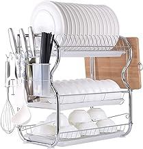 caravana organizador de vajilla para cocina duradero Escurreplatos con escurridor port/átil tendedero cuberter/ía caja de almacenamiento para bolos EPRHAY gran capacidad campistas