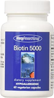 Allergy Research Group - Biotin 5000 mcg 60 caps
