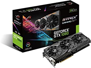 ASUS GeForce GTX 1080 8GB ROG Strix Graphics Card (STRIX-GTX1080-8G-GAMING)