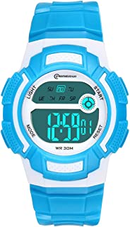 Kids Watch Sport Multi Function Waterproof LED Alarm Stopwatch Wrist Watches Digital Child Wristwatch for Boy Girl