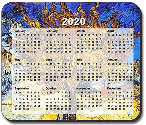 Art Plates Brand - Van Gogh - Mulberry Tree Mouse Pad - with 2020 Calendar