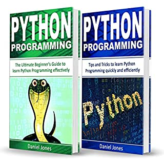 Python Programming     2 Books in 1 - The Ultimate Beginner's Guide to Learn Python Programming Effectively & Tips and Tricks to Learn Python Programming              By:                                                                                                                                 Daniel Jones                               Narrated by:                                                                                                                                 Pete Beretta                      Length: 2 hrs and 24 mins     Not rated yet     Overall 0.0