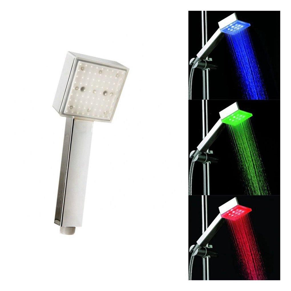 Bao core LED - alcachofa de ducha columna de ducha de lluvia de ...