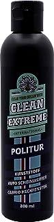 CLEANEXTREME Kunststoffpolitur 200 ml   Politur zum Polieren von Kunststoff Scheinwerfer von Auto & Motorrad und Cabrioscheiben (Kunststoff Heckscheiben)