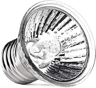Domybest - Bombilla calefactora de terrario con lámpara UV UV B, 50w