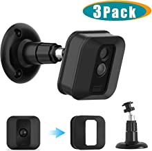 Blink XT2 Camera Wall Mount Bracket, 360 Degree Adjustable Wall Mount with Weather Proof Silicone Case Cover for Blink XT/XT2 Outdoor/Indoor Home Security System
