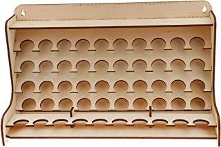 Jili Online Wooden Pigment Paint Bottle Rack Model Organizer Storage Stand Holder Tools
