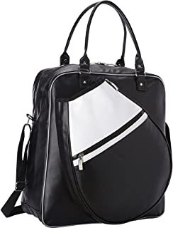 GoodHopeBags Travelwell Front Pocket Side Zip Leather wrap 48 Garment Cover Black