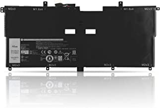 ZTHY 46Wh NNF1C Battery Replacement for Dell XPS 13 9365 2in1 2017 Series XPS 13-9365-D1605TS 13-9365-D1805TS 13-9365-D2805TS 13-9365-D3605TS Series Notebook 0NNF1C HMPFH 7.6V 5940mAh 4Cell