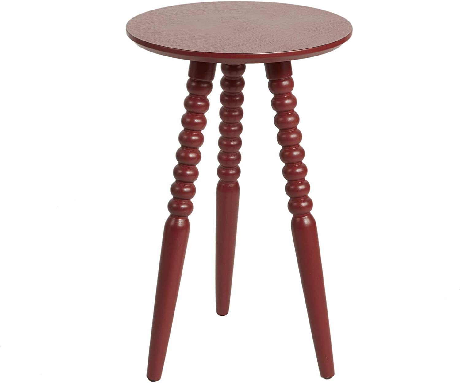 Silverwood CPFT1517B Side Table, Antique Red