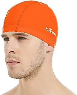 Firesara Lycra Swim Cap, High Elasticity Swimming Cap...