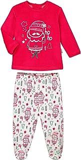 Pijama bebé 2piezas con patas Ho Ho–Talla–3meses (62cm)