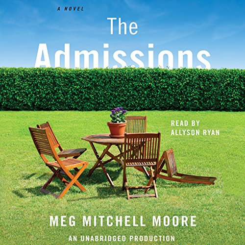 The Admissions audiobook cover art