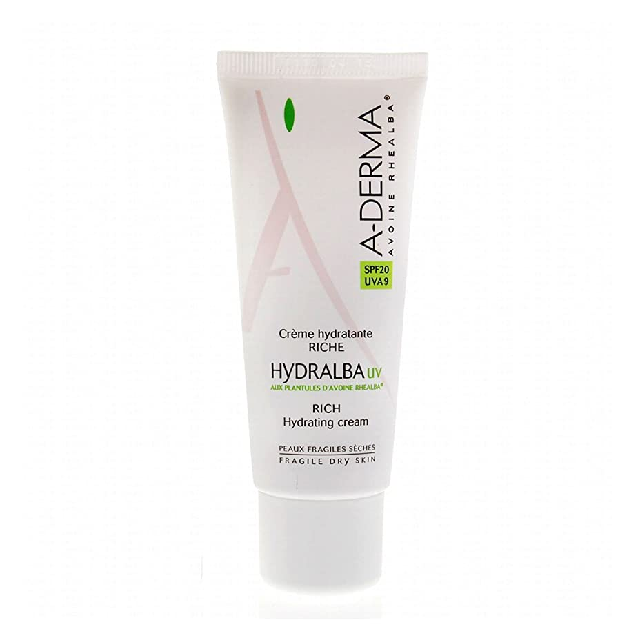 かわす仕方苦しめるA-derma Hydralba Uv Rich Hydrating Cream 40ml [並行輸入品]
