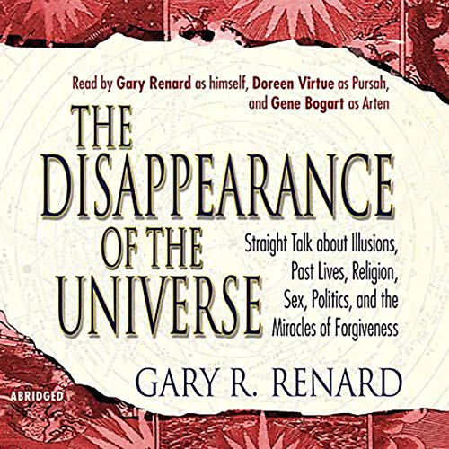 The Disappearance of the Universe audiobook cover art