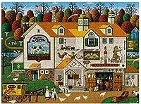 大人のパズル3000ピースファーム楽しいゲームDIY家の装飾