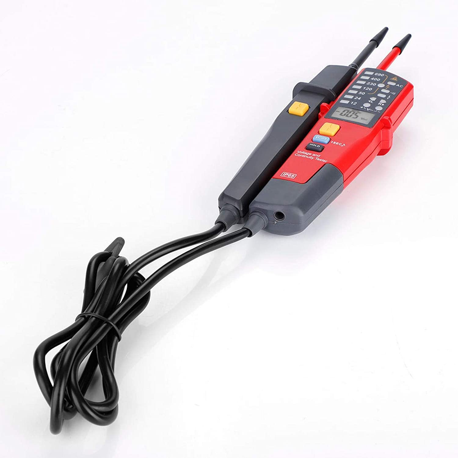 Continuity Tester Measured Voltage Sale SALE% OFF Over Indication Range Di LCD Super sale
