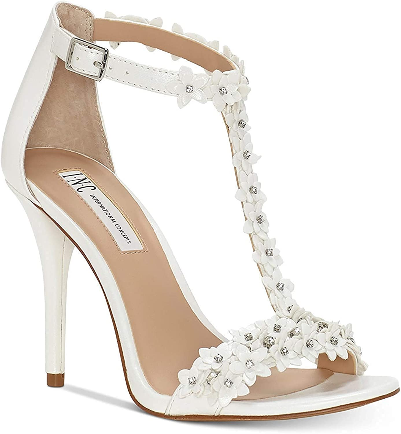 INC International Concepts Womens Rosiee Open Toe Casual Ankle Strap Sandals