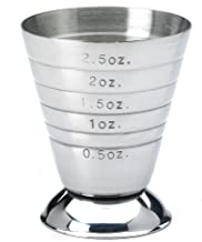 Barfly M37069 Measuring Cup, 2.5 oz, Stainless Steel