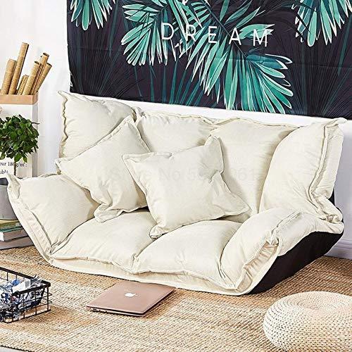 LJQLXJ divano Lazy Sofa Double Small-Size Bedroom Women's Tatami Net Red Folding Dual-Purpose Single Sofa Bed,Two Seat
