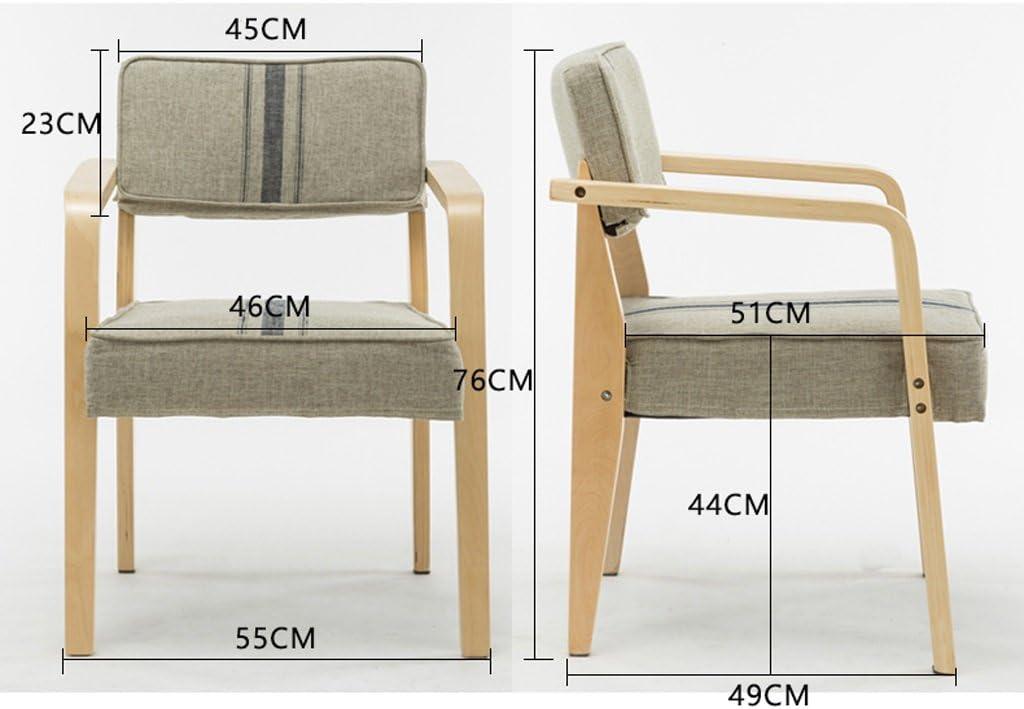Accueil moderne minimaliste à manger chaise chaise de bureau (Couleur : B) B